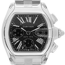 Cartier stainless steel XL Roadster Chronograph