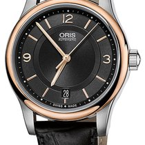 Oris Classic Date Automatic Steel & Rose Gold Plated Mens...