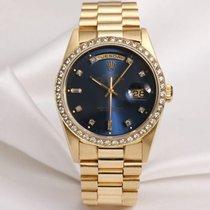 Rolex Day-Date 18348 18K Yellow Gold Diamond