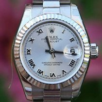 Rolex Ladies President 26mm 18k White Gold Roman 179179 Like