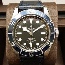 帝陀 (Tudor) Heritage Black Bay Leather Strap Version Blue [NEW]