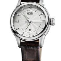 Oris Artelier Date 31 Brown Leather