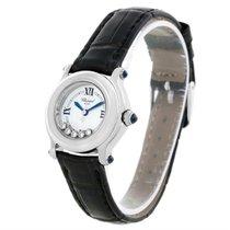 Chopard Happy Sport White Dial Floating Diamond Watch 27/8245-23
