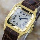 Cartier Santos 18k Solid Gold Dress Watch Circa 2008 Cn9