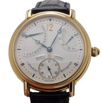 Maurice Lacroix Masterpiece Calendrier Retrograde 18K Gold...