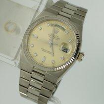 Rolex Seltene Oysterquartz Day Date mit Diamantblatt