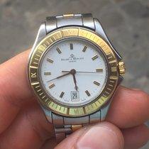 Baume & Mercier Gold steel quarzo 34 mm date