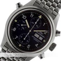 IWC Herrenuhr Doppelchronograph Stahl IW3711-17