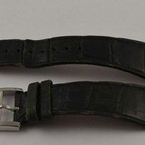 Movado Kroko Leder Armband 24mm Mit Dornschliesse