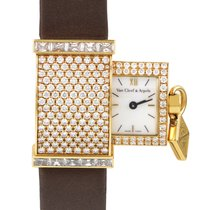 Van Cleef & Arpels Secret Pavée Women's 18K Yellow...