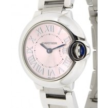 Cartier Ballon Bleu W6920038 Steel, Quartz, 28mm