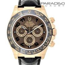 Rolex DAYTONA 116515LN ROSE GOLD CHOCOLATE NUOVO/NEW