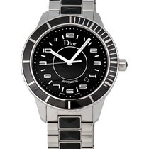 Dior Christal Stainless Steel 41MM Automatic Unisex Watch –...