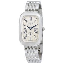 Longines Equestrian Silver Dial Stainless Steel Unisex Watch