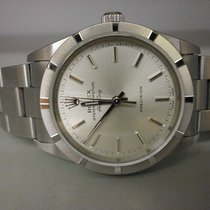 "Rolex Air-king 14010 S/s 34mm Auto Watch. ""p"" Series"