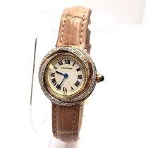 Cartier Trinity 18k Multi Color Gold Ladies Watch Diamonds...
