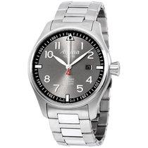 Alpina Sartimer Pilot Grey Dial Stainless Steel Men's...