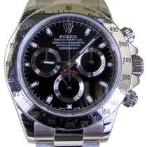 Rolex Daytona 116520 Black Stainless Steel Cosmograph