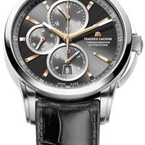 Maurice Lacroix Pontos Chronographe Date, Black Dial Gold...