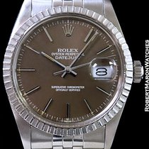 Rolex 1603 Datejust Caramel Gray Dial Steel
