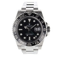 Rolex GMT Master II Automatic Hours, minutes, sweep seconds,...