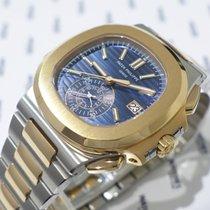 Patek Philippe Nautilus Chronograph Steel & Rose Gold -...