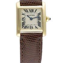 Cartier LADIES 18K TANK FRANCAISE