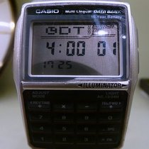 Casio vintage quartz lcd data bank multi lingual ref 2888-DBC3...
