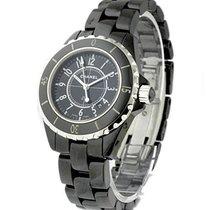 Chanel H0682 J12 - Black 33mm in Black Ceramic - on Black...
