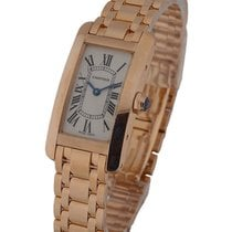 Cartier W2607456_bracelet Tank Americaine in Rose Gold - Small...