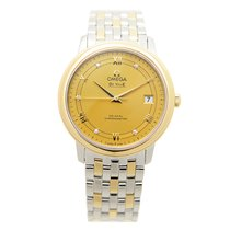 Omega De Ville Gold And Steel Gold Automatic 424.20.37.20.58.002