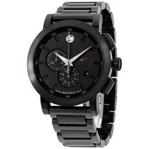 Movado Museum Sport Black Dial Men's Chronograph Watch...