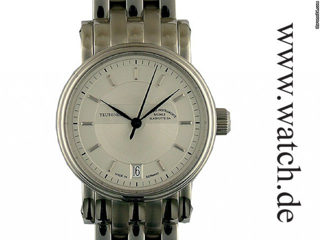 Mhle Glashtte Teutonia II Automatic 34mm