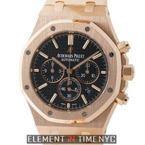 Audemars Piguet Royal Oak 18k Rose Gold Chronograph 41mm Ref....
