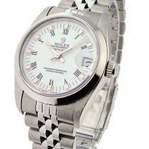 Rolex Used 78240 Steel Mid Size Datejust - Circa 1991 - Smooth...