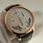 Jaeger-LeCoultre [NEW] Silver Dial 18kt Rose Gold Brown...