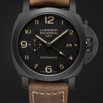 Panerai LUMINOR 1950 3 DAYS GMT CERAMICA  44MM PAM00441 PAM441...