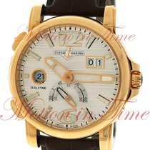 Ulysse Nardin GMT Dual Time & Big Date, Silver Dial - Rose...