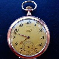 Chopard L.U.C. PRIMA ANTIKE SILBER 800 TASCHENUHR CHRONOMETER