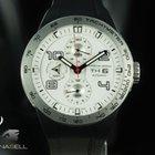 Porsche Design Flat Six Automatic, Satin titanium, white,