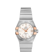 Omega 12320272055004 Constellation 27mm Ladies Watch