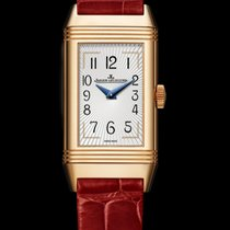 Jaeger-LeCoultre Reverso One Duetto Moon Pink Gold Silver Dial M