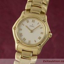 Ebel Lady 18k (0,750) Gold 1911 Damenuhr Ref 8057901 Eleganter...