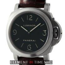 Panerai Luminor Collection Luminor Base Titanium 44mm Black...
