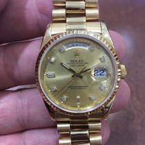 Rolex President, Oyster Perpetual Day-Date Diamond Dial