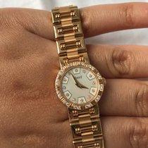 Piaget Dancer Silver Dial Rose Gold Bracelet Diamond