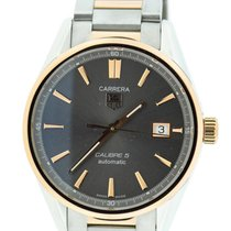 TAG Heuer Carrera Cal 5 18K Rose Gold/Stainless Steel