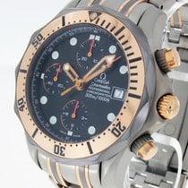 Omega Seamaster Professional Diver Chrono Titan/Roségold Ref....