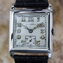 Longines Rare Swiss Made Military 1930s Officer's Manual...