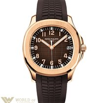 Patek Philippe Aquanaut Dual Time Rose Goldl Men's Watch